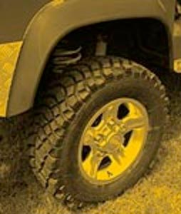 4x4 vehicle wheels and tyres